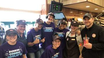 Photos - Dunkin Iced Coffee Day 5/22/19