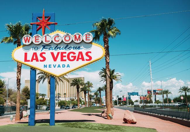 USA, Nevada, Las Vegas, Welcome To Fabulous Las Vegas Nevada Sign