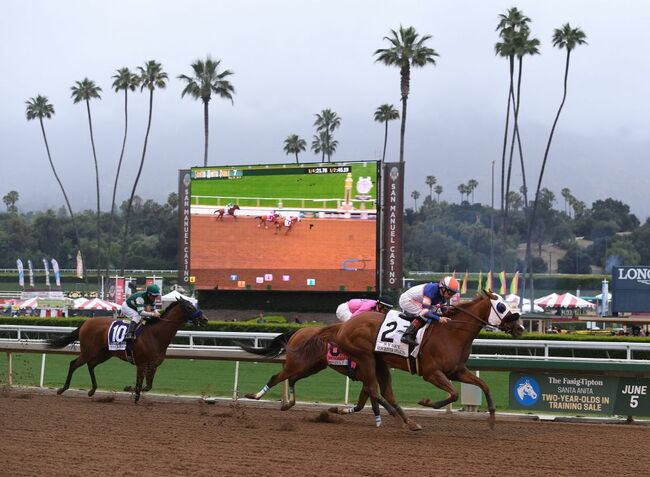 US-HORSE-RACING-TRACK
