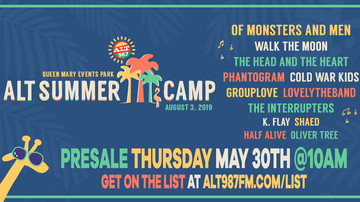 Summer Camp - Lineup For ALT SUMMER CAMP 2019