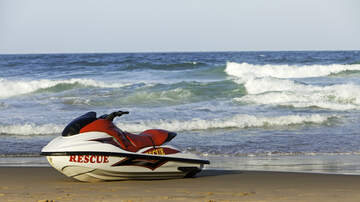 image for GOOD NEWS: Group Of Jet Skiers Rescue 100 People Stranded By Hurricane