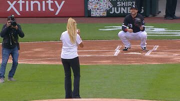 Monsters - WORST CEREMONIAL FIRST PITCH EVER!! RUSS YOU ARE IN GOOD COMPANY!!