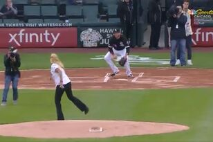Watch the Worst Ceremonial First Pitch in History