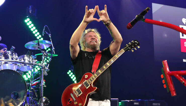 iHeartRadio ICONS With Sammy Hagar And The Circle: Inside The Making of Space Between At The iHeartRadio Theater LA