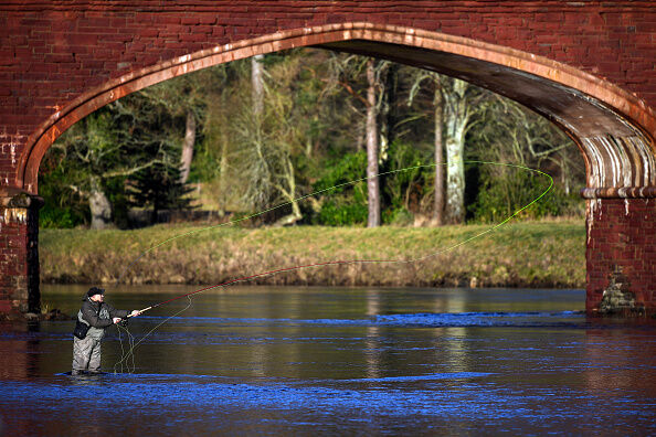 Salmon Fishing Season Begins On The River Tay