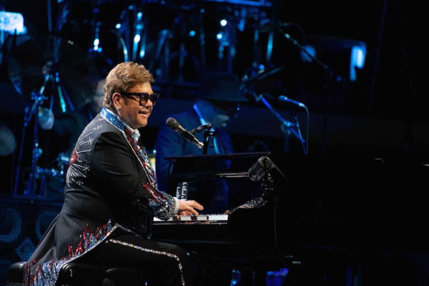 Elton John Performs In Gothenburg