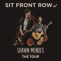 See Shawn Mendes FRONT ROW