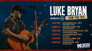 None - 96.3 Star Country Welcomes the Luke Bryan Farm Tour in Marshall, WI