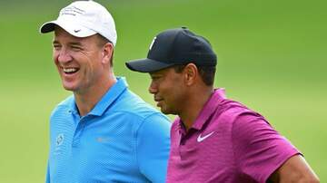 The Gunner Page - Trash Talk OVERLOAD! Peyton Manning & Tiger Woods Paired At Pro-Am