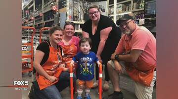 The Russ Martin Show - Home Depot Employees Build Walker for Young Boy