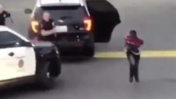Qui West -  WATCH: Dude Freed His Homie From A Cop Car!