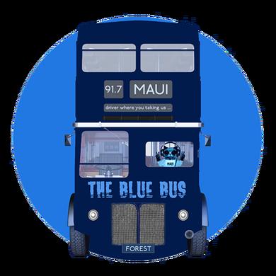 The Blue Bus logo