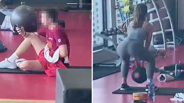 Suzette - Man Caught Masturbating In Gym Near Woman Doing Squats Is Banned