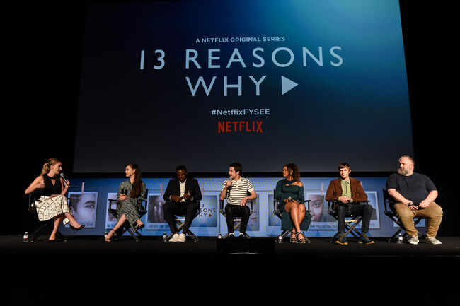 "#NETFLIXFYSEE Event For ""13 Reasons Why"" Season 2 - Inside"