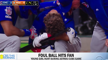 Tim Ben & Brooke - WATCH: Cubs Player Breaks Down After Line Drive Strikes 4-Year-Old Girl