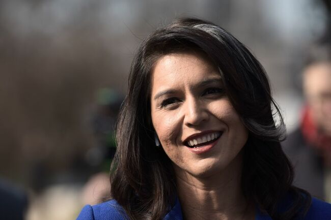 US-POLITICS-VOTE-DEMOCRAT-CANDIDATE-GABBARD
