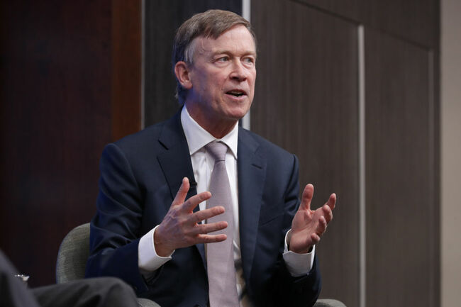 Governors Hickenlooper (D-CO) And Kasich (R-OH) Speak At The Brookings Institution In D.C.