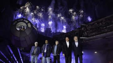 Chuck Nowlin - Harrison Ford Kick-Starts The Millenium Falcon At Disneyland Celebration
