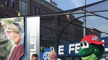 "Photos - PHOTOS: Blue Cross Blue Shield ""Live Fearless"" Playground at Fluor Field"