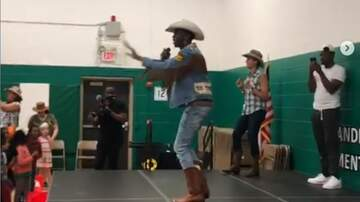 Tyler Z - Lil Nas X performs at elementary school