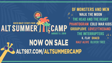 Summer Camp - Buy Tickets Now For ALT Summer Camp