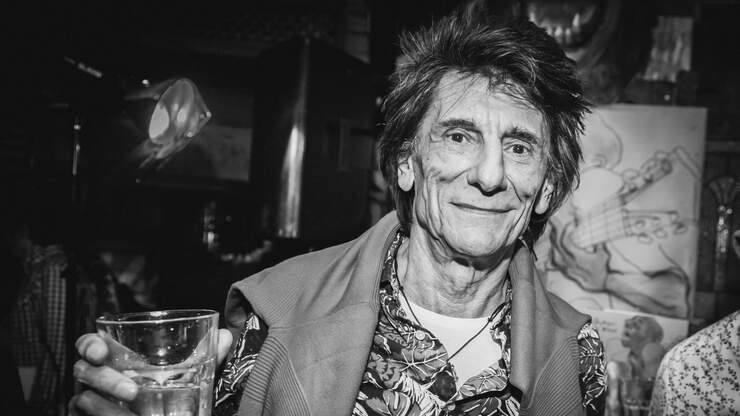 Ronnie Wood : 20 Things You Might Not Know