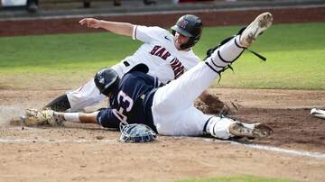 Baseball - UConn belts Nebraska...Advances to Regional Final