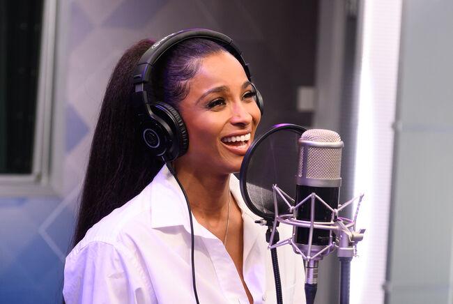 Ciara Performs On SiriusXM Hits 1 At The SiriusXM Studios In New York