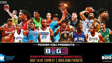 None - Power 105.1 welcomes Ice Cube's BIG3 Basketball League back to Brooklyn