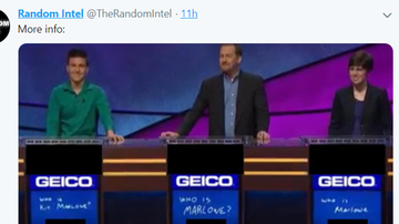 Steve - Spoiler: Jeopardy! contestant James Holzhauer loses