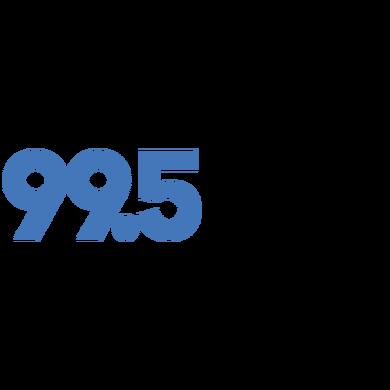 99.5 The River logo