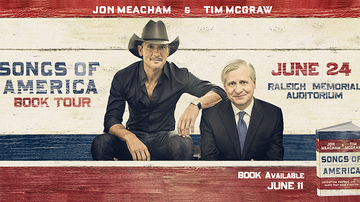 Frankie D - Tim McGraw on his songs of america tour!
