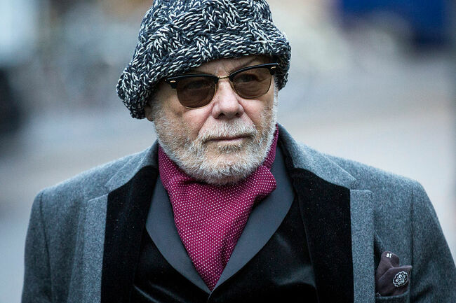Gary Glitter Appears At Southwark Crown Court To Face Charges Of Sex Offences