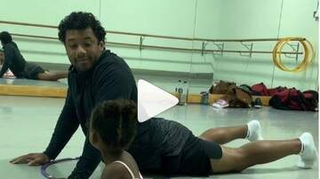 Lee Callahan - Russell And Sienna Go To Their Ballet Class [VIDEO]