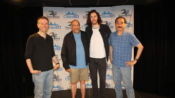 Photos: Cities 97 Studio C - PHOTOS: Hozier in Studio C