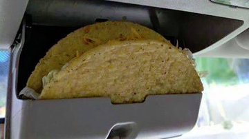 Chumley -  YOUR car has a built in taco holder