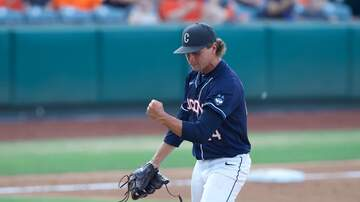 Baseball - UConn Baseball Season Ends with 3-1 Loss to Oklahoma State