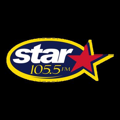 Star 105.5 logo