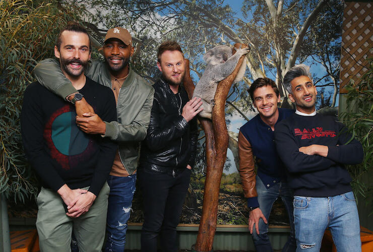 Cast Of Queer Eye Visits Sydney