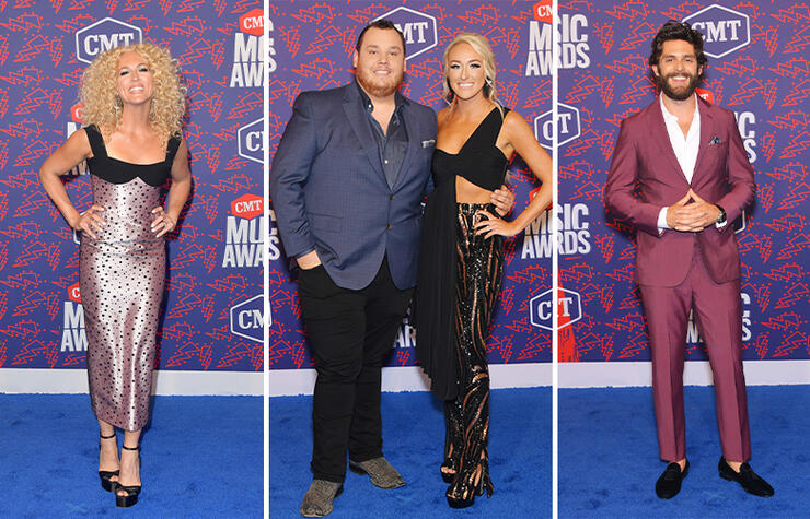 2019 CMT Music Awards Red Carpet: See The Best Looks Of The Night | iHeartRadio