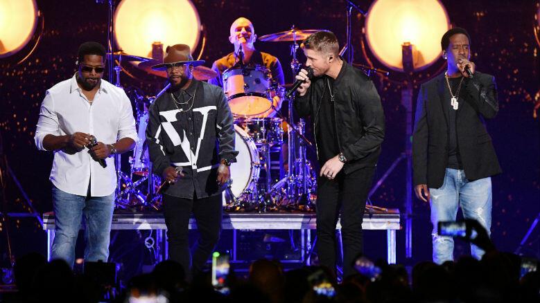 Brett Young, Boyz II Men Bring 'Crossroads' Collab To CMT Music Awards