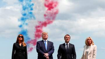 Politics - Trump Marks 75th Anniversary of D-Day in Normandy, France