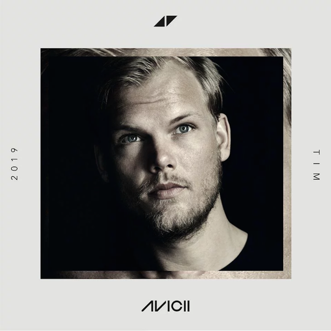 Avicii 'Tim' Album Cover Art