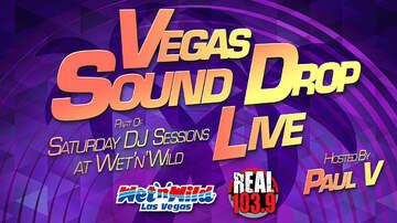 Paul V - Vegas Sound Drop LIVE at Wet 'N' Wild: R.3.D & DJ Marx