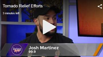 Josh Martinez - Talking About Tornado Relief In Dayton