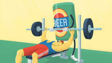 Trevor D in the Morning Show - Healthy Beer Is Here for After Your Workouts