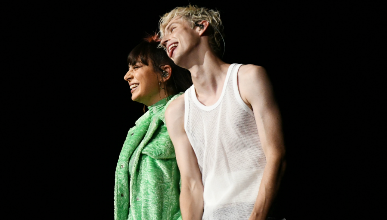 Charli XCX & Troye Sivan Live-Premiere New Duet '2099'