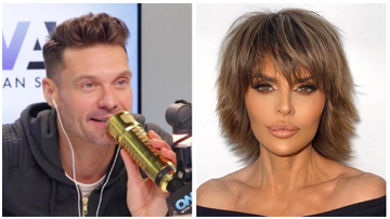Ryan Seacrest - Lisa Rinna Gives Ryan Seacrest QVC Advice, Spills on RHOBH Reunion