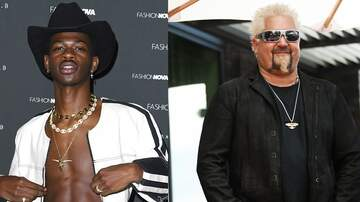 EJ - Guy Fieri Asks Lil Nas X To Do an Old Town Road Remix: 'Flavortown Road'