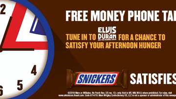 Contest Rules - EDMS SNICKERS® Hungry Hour Free Money Phone Tap Rules
